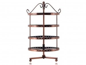 4 Tier Stand / Display drum for jewelry earrings pendants (1)